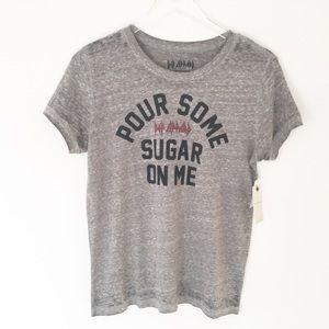 NWT!! Lucky Brand | Def Leppard Burnout T-Shirt
